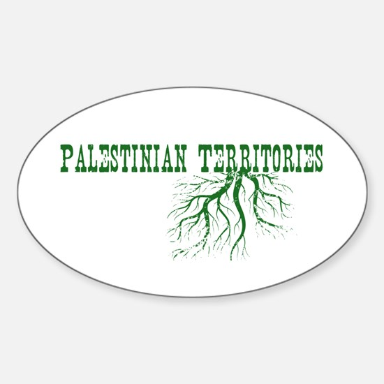 Palestinian Roots Sticker (Oval)