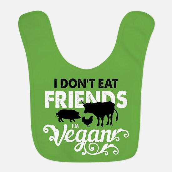 Vegan Friends Polyester Baby Bib