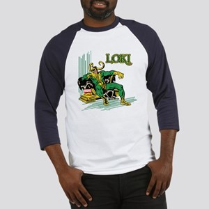 Marvel Comics Loki Retro Baseball Jersey