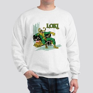 Marvel Comics Loki Retro Sweatshirt
