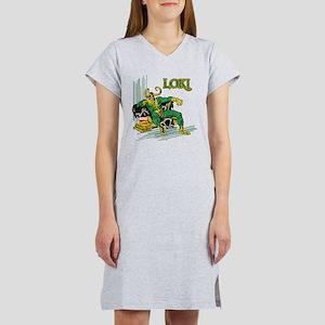 Marvel Comics Loki Retro Women's Nightshirt