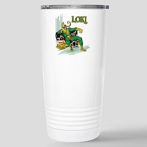 Marvel Comics Loki Retr Stainless Steel Travel Mug