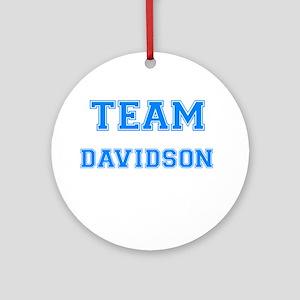 TEAM DAVIDSON Ornament (Round)