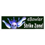 Ebowler Strike Zone Bumper Sticker