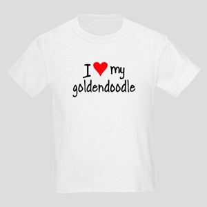 I LOVE MY Goldendoodle Kids Light T-Shirt