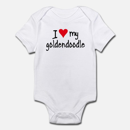 I LOVE MY Goldendoodle Infant Bodysuit