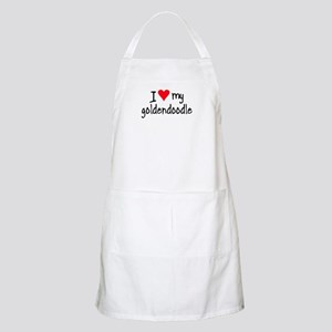 I LOVE MY Goldendoodle Apron