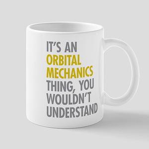 Orbital Mechanics Thing Mug