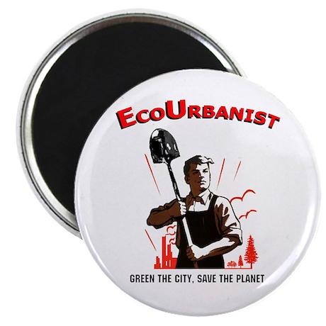 """Ecourbanist 2.25"""" Magnet (10 pack)"""