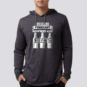Weekend Forecast Bonfires And Long Sleeve T-Shirt
