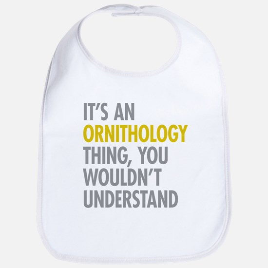 Ornithology Thing Bib