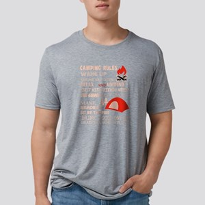 Camping Rules To Remember T Shirt T-Shirt