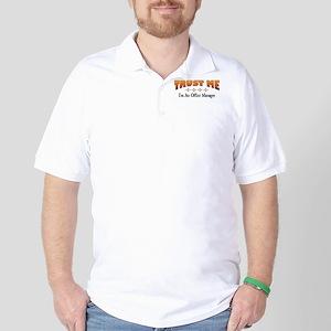 Trust Office Manager Golf Shirt