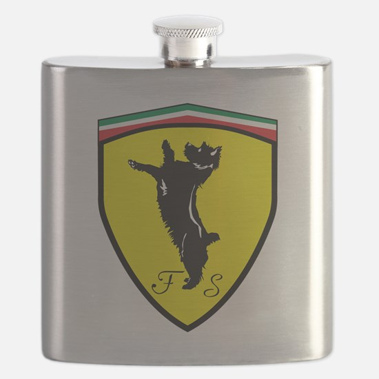 Race Dog Flask