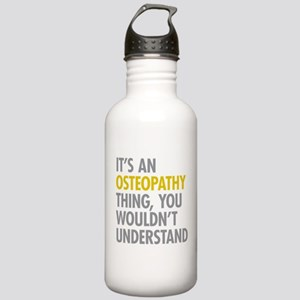 Its An Osteopathy Thin Stainless Water Bottle 1.0L