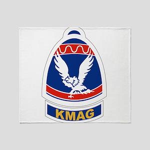 3rd Special Engineer Brigade Throw Blanket