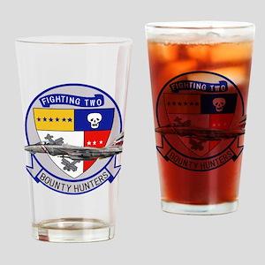 vf2logoShirt Drinking Glass