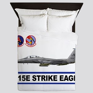 492_FS_F15_STRIKE_EAGLE Queen Duvet
