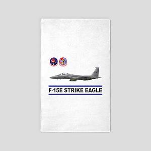492_FS_F15_STRIKE_EAGLE 3'x5' Area Rug