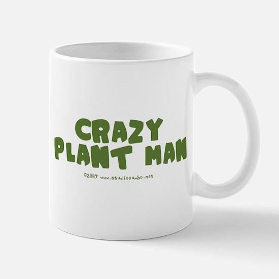 Crazy Plant Man Mug