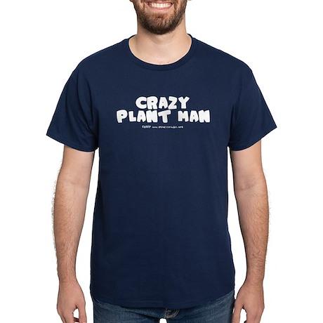 Crazy Plant Man Dark T-Shirt