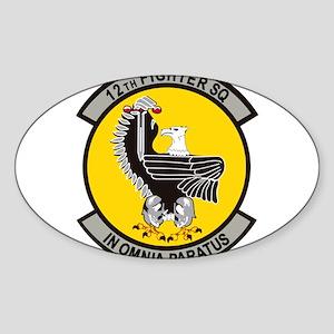 12th Fighter Squadron Sticker