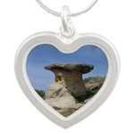 Hoodoo Silver Heart Necklace
