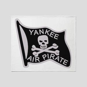 yankee_air_pirate Throw Blanket