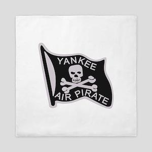yankee_air_pirate Queen Duvet