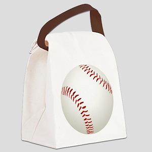 baseball/ softball Canvas Lunch Bag