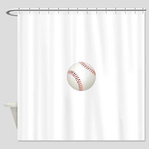 baseball/ softball Shower Curtain
