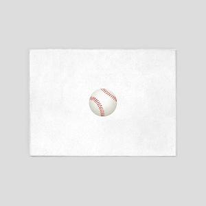 baseball/ softball 5'x7'Area Rug