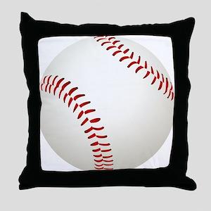 baseball/ softball Throw Pillow