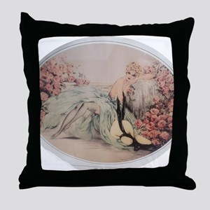 Labelle Rose Throw Pillow