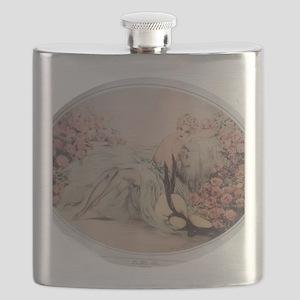 Labelle Rose Flask