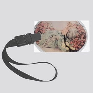 Labelle Rose Large Luggage Tag
