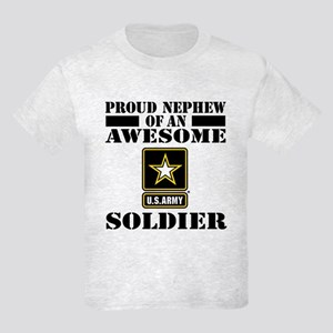 Proud Nephew U.S. Army Kids Light T-Shirt