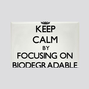 Keep Calm by focusing on Biodegradable Magnets