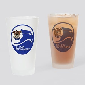 f22_BULLDOG_525 Drinking Glass