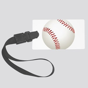 baseball/ softball Large Luggage Tag