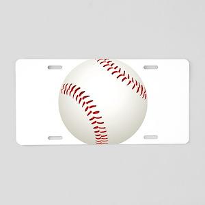 baseball/ softball Aluminum License Plate