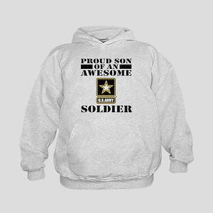 Proud Son U.S. Army Kids Hoodie