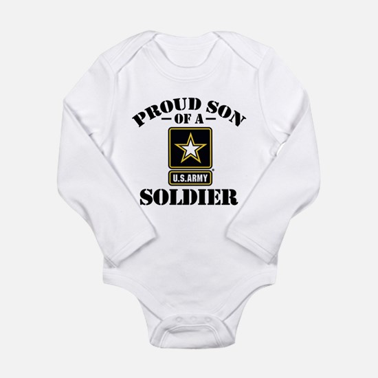 Proud Son U.S. Army Long Sleeve Infant Bodysuit