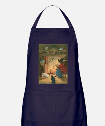 Witch and Friends Apron (dark)