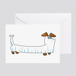 Dachshund halloween greeting cards cafepress halloween dachshund greeting cards m4hsunfo