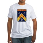 USS CHEVALIER Fitted T-Shirt