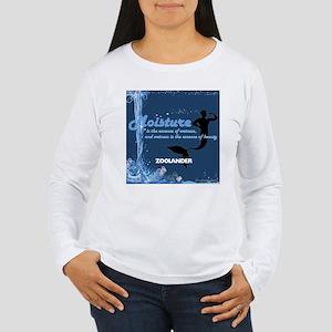 moisture Long Sleeve T-Shirt
