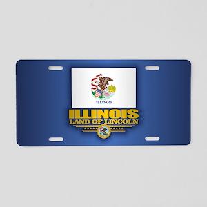 Illinois (F15) Aluminum License Plate