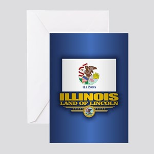 Illinois (F15) Greeting Cards (Pk of 10)