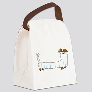 Halloween Dachshund Canvas Lunch Bag